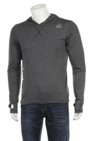 Мъжка блуза Reebok, Размер S, Цвят Сив, 65% полиестер, 35% памук, Цена 51,75лв.