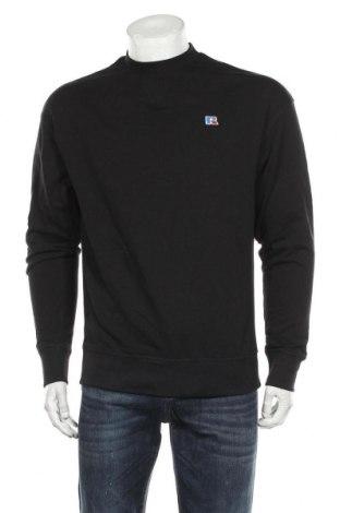 Ανδρική μπλούζα Russell Athletic, Μέγεθος M, Χρώμα Μαύρο, Βαμβάκι, Τιμή 20,10€