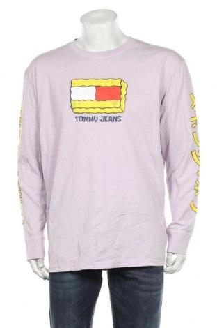 Ανδρική μπλούζα Tommy Hilfiger, Μέγεθος XXL, Χρώμα Βιολετί, Βαμβάκι, Τιμή 46,01€
