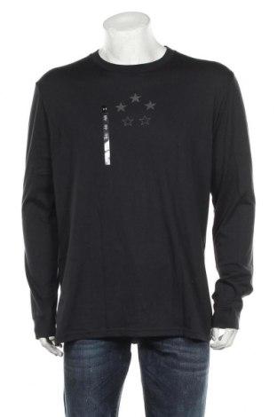 Мъжка блуза Under Armour, Размер L, Цвят Черен, 60% памук, 40% полиестер, Цена 66,75лв.
