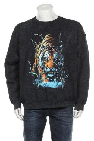 Ανδρική μπλούζα Vintage Supply, Μέγεθος M, Χρώμα Μαύρο, 50% πολυεστέρας, 50% βαμβάκι, Τιμή 17,78€