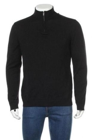 Ανδρικό πουλόβερ Boohoo, Μέγεθος L, Χρώμα Μαύρο, 80% βαμβάκι, 20% πολυεστέρας, Τιμή 20,10€