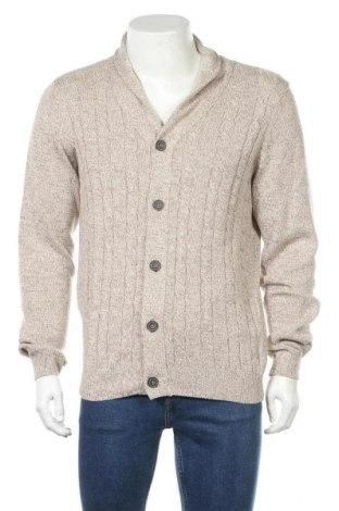 Pánský kardigán Watson's, Velikost M, Barva Béžová, 50% bavlna, 50% Polyacryl, Cena  430,00Kč