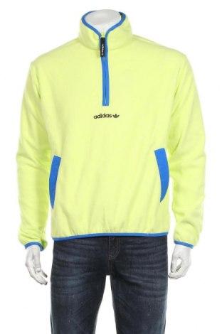 Мъжка поларена блуза Adidas Originals, Размер S, Цвят Зелен, 100% полиестер, Цена 74,25лв.