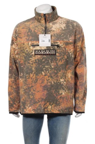 Мъжка поларена блуза Napapijri, Размер L, Цвят Многоцветен, Полиестер, Цена 111,75лв.