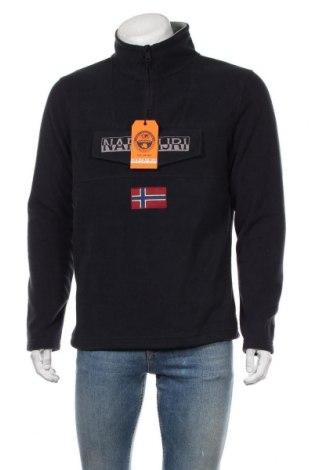 Мъжка поларена блуза Napapijri, Размер L, Цвят Син, Полиестер, Цена 111,75лв.