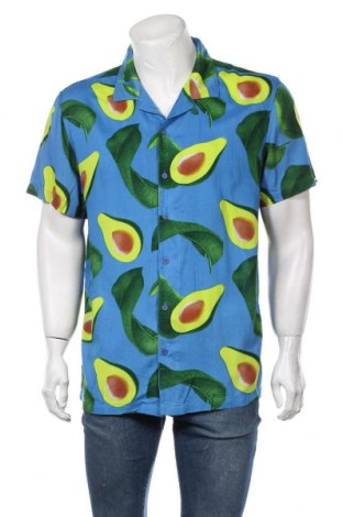 Мъжка риза Brave Soul, Размер L, Цвят Син, Вискоза, Цена 36,75лв.