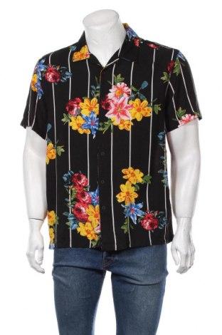 Мъжка риза Brave Soul, Размер M, Цвят Черен, Вискоза, Цена 34,50лв.