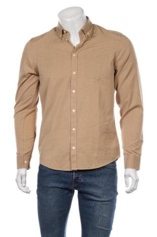 Мъжка риза Casual Friday, Размер S, Цвят Кафяв, 60% лиосел, 40% памук, Цена 51,75лв.
