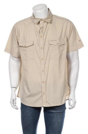 Мъжка риза Craghoppers, Размер XL, Цвят Бежов, 65% полиестер, 35% памук, Цена 34,50лв.