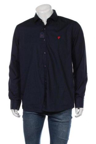 Мъжка риза Denim Culture, Размер L, Цвят Син, 100% памук, Цена 104,25лв.