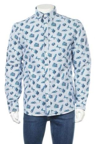 Ανδρικό πουκάμισο Desigual, Μέγεθος L, Χρώμα Πολύχρωμο, Βαμβάκι, Τιμή 76,80€