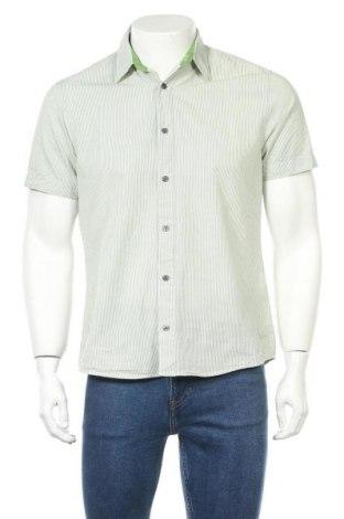 Ανδρικό πουκάμισο H&M, Μέγεθος M, Χρώμα Πράσινο, Βαμβάκι, Τιμή 11,14€