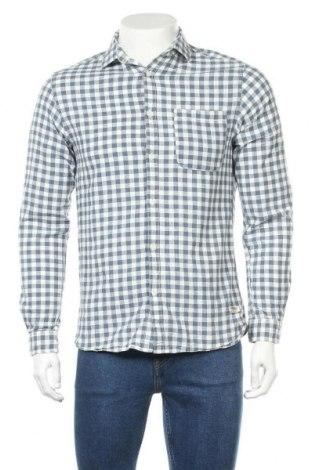 Мъжка риза Jack & Jones, Размер S, Цвят Син, Памук, Цена 28,50лв.