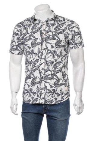 Мъжка риза Jack & Jones, Размер S, Цвят Бял, Памук, Цена 39,00лв.