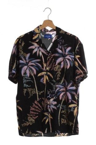 Мъжка риза Jack & Jones, Размер XS, Цвят Черен, 60% памук, 40% вискоза, Цена 39,00лв.