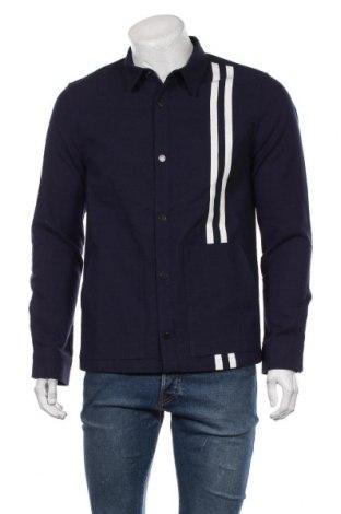 Мъжка риза Junk De Luxe, Размер M, Цвят Син, Памук, Цена 119,25лв.