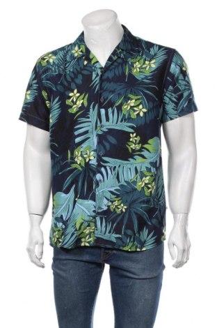Мъжка риза Kronstadt, Размер L, Цвят Син, Полиестер, Цена 51,75лв.