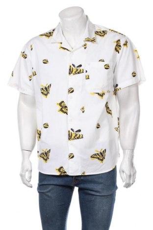 Мъжка риза Obey, Размер L, Цвят Бял, Памук, Цена 59,25лв.