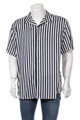 Мъжка риза Only & Sons, Размер XXL, Цвят Син, Вискоза, Цена 44,25лв.