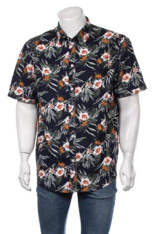 Мъжка риза Pier One, Размер XXL, Цвят Многоцветен, Памук, Цена 36,75лв.