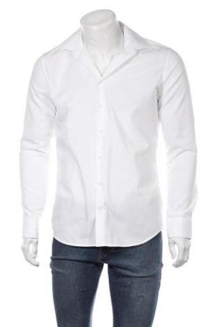 Мъжка риза Seidensticker, Размер M, Цвят Бял, Памук, Цена 46,50лв.