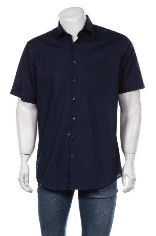 Мъжка риза Seidensticker, Размер L, Цвят Син, Памук, Цена 39,00лв.