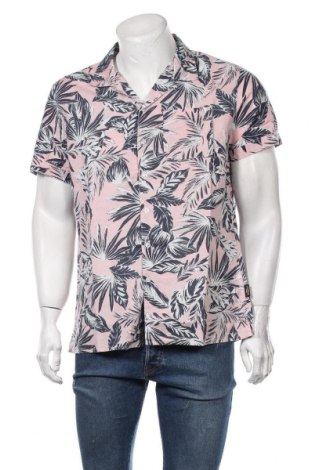 Мъжка риза Superdry, Размер XL, Цвят Многоцветен, 72% памук, 28% лен, Цена 59,25лв.