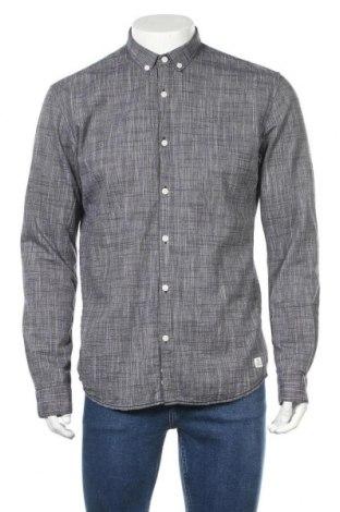 Ανδρικό πουκάμισο Tom Tailor, Μέγεθος L, Χρώμα Μπλέ, Βαμβάκι, Τιμή 17,17€