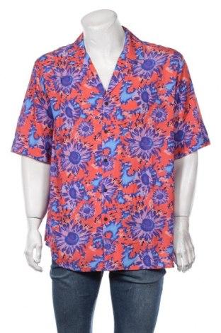 Мъжка риза Vintage Supply, Размер L, Цвят Многоцветен, Вискоза, Цена 40,50лв.