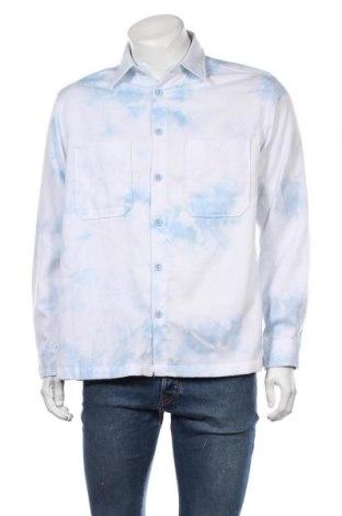 Мъжка риза Vintage Supply, Размер M, Цвят Син, Цена 36,75лв.