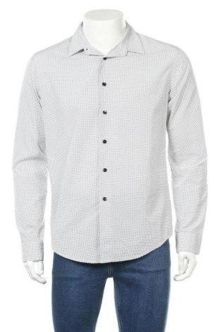 Ανδρικό πουκάμισο Zara Man, Μέγεθος L, Χρώμα Λευκό, Βαμβάκι, Τιμή 16,70€