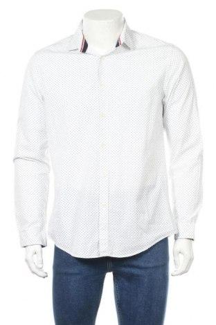Мъжка риза Zara Man, Размер L, Цвят Многоцветен, Памук, Цена 27,00лв.