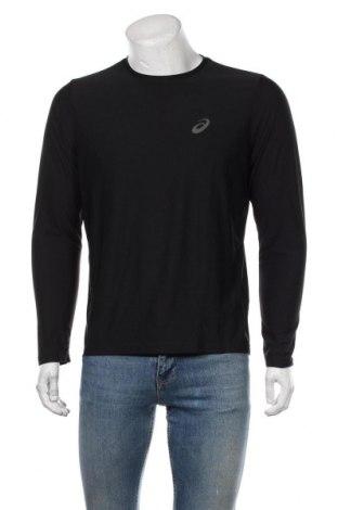 Мъжка спортна блуза ASICS, Размер M, Цвят Черен, Полиестер, Цена 51,75лв.