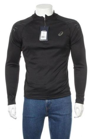 Мъжка спортна блуза ASICS, Размер S, Цвят Черен, 100% полиестер, Цена 51,75лв.