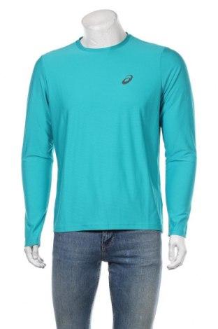 Pánské sportovní tričko ASICS, Velikost M, Barva Modrá, Polyester, Cena  630,00Kč