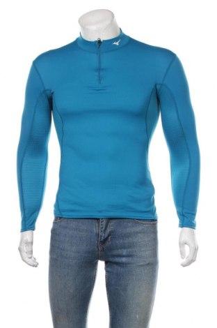 Pánské sportovní tričko Mizuno, Velikost S, Barva Modrá, 90% polyester, 10% jiné materiály, Cena  620,00Kč