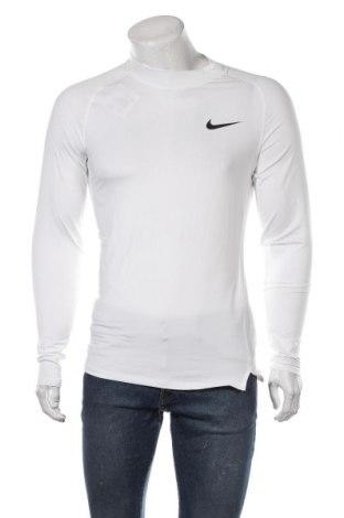 Pánské sportovní tričko Nike, Velikost L, Barva Bílá, 91% polyester, 9% elastan, Cena  1000,00Kč