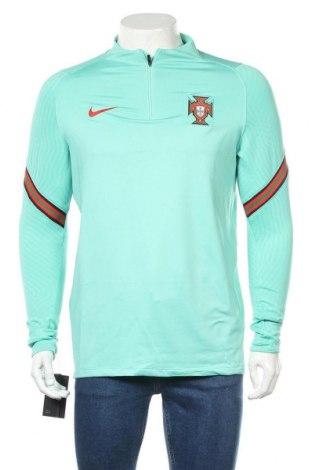 Pánské sportovní tričko Nike, Velikost L, Barva Zelená, 91% polyester, 9% elastan, Cena  791,00Kč