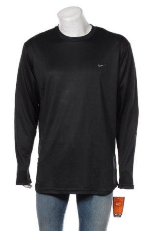 Мъжка спортна блуза Nike, Размер XL, Цвят Черен, Полиестер, Цена 29,25лв.