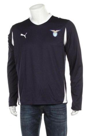 Мъжка спортна блуза PUMA, Размер L, Цвят Син, Полиестер, Цена 59,25лв.