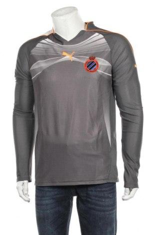 Мъжка спортна блуза PUMA, Размер L, Цвят Сив, 84% полиестер, 16% еластан, Цена 59,25лв.