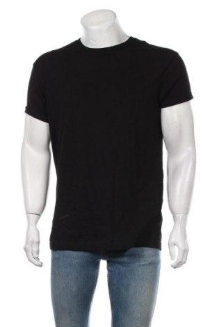 Tricou de bărbați, Mărime L, Culoare Negru, 100% bumbac, Preț 50,66 Lei