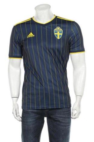 Pánské tričko  Adidas, Velikost S, Barva Modrá, Cena  575,00Kč