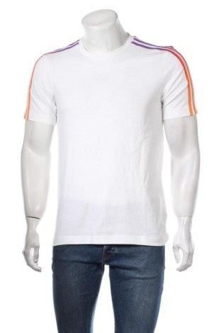 Мъжка тениска Adidas Originals, Размер S, Цвят Бял, Памук, Цена 31,90лв.