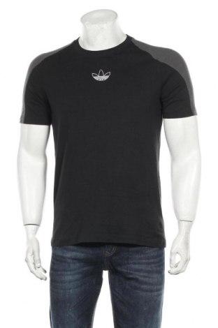 Мъжка тениска Adidas Originals, Размер S, Цвят Черен, Памук, Цена 48,00лв.