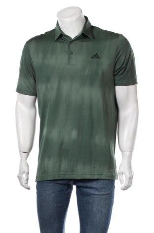 Мъжка тениска Adidas, Размер M, Цвят Зелен, 89% полиестер, 8% еластан, 3% полиестер, Цена 48,00лв.