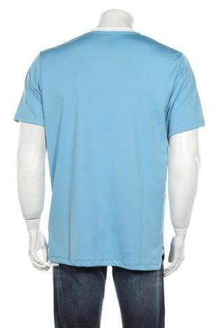 Мъжка тениска Adidas, Размер L, Цвят Син, Полиестер, Цена 22,77лв.