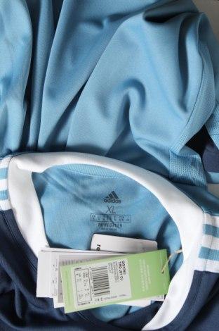 Мъжка тениска Adidas, Размер XL, Цвят Син, Полиестер, Цена 22,77лв.
