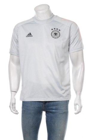 Мъжка тениска Adidas, Размер M, Цвят Сив, Полиестер, Цена 59,25лв.
